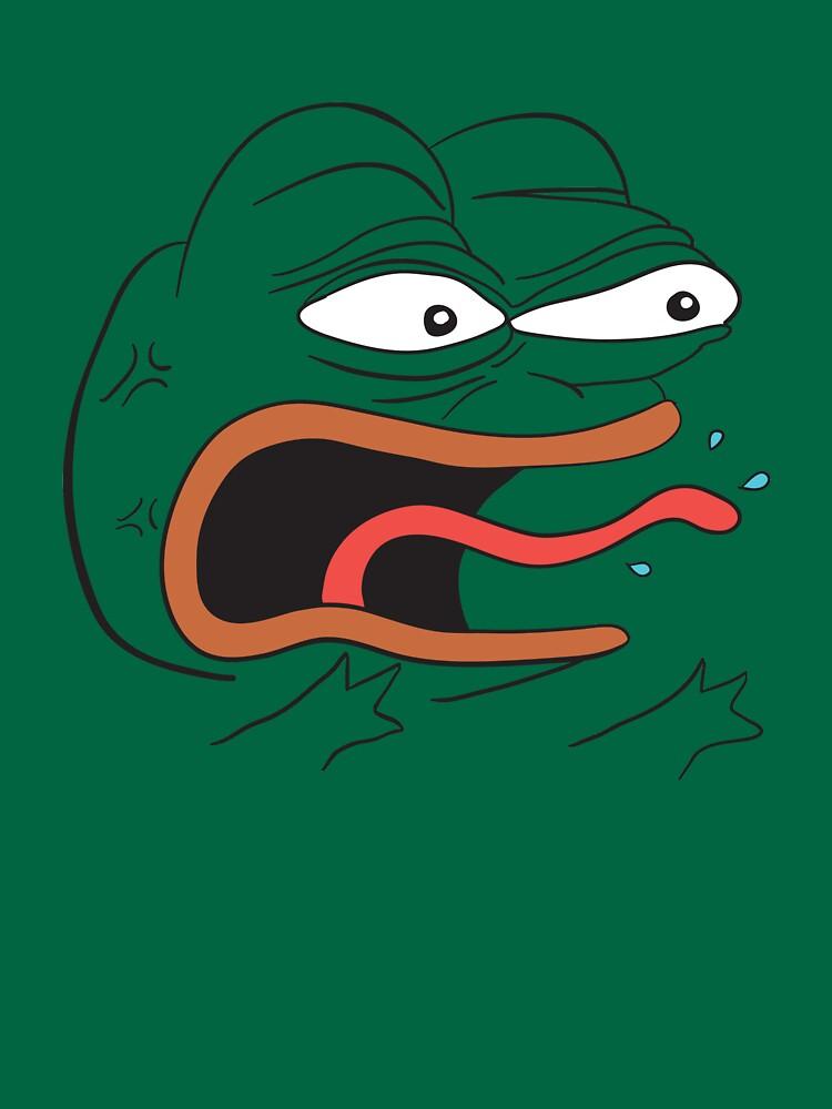 Angry Pepe the Frog - REEEEEEE | Unisex T-Shirt
