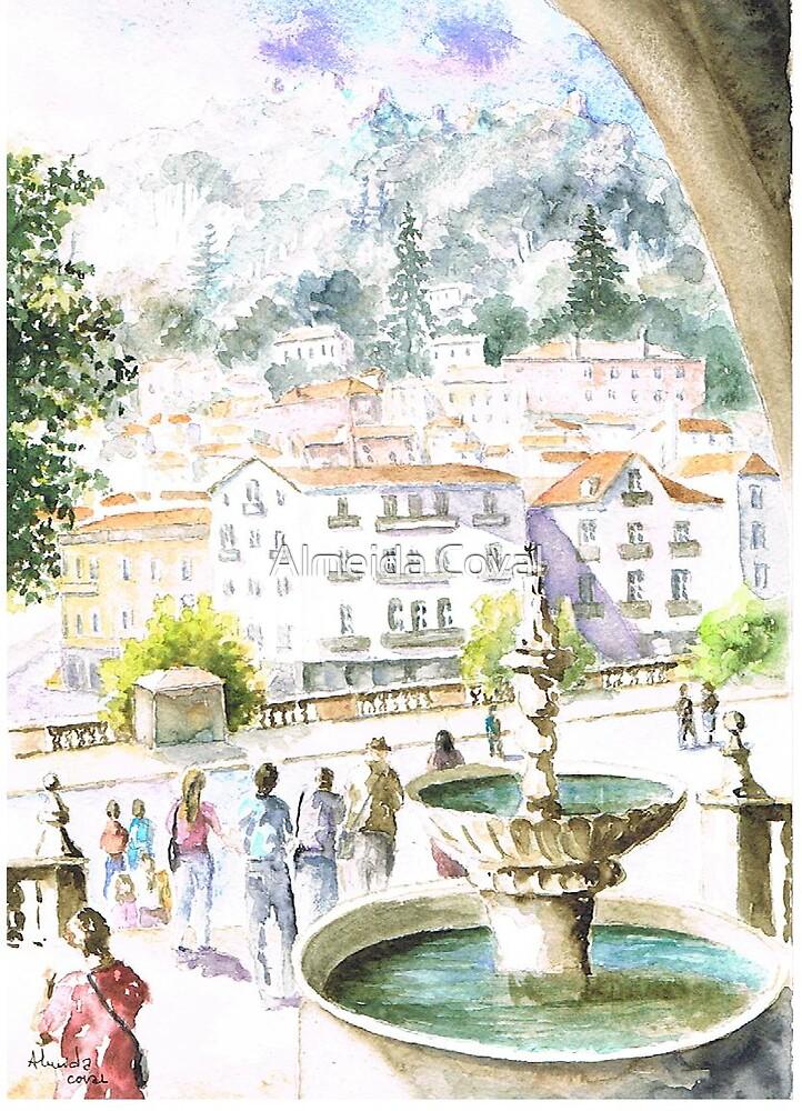 terreiro rainha d. amelia sintra by Almeida Coval