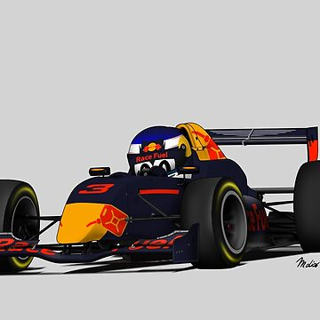 Race Fuel Junior Team Cartoon by MD-Colors