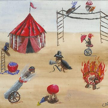 Flea Circus by kazeseka