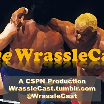 The WrassleCast logo by cspn