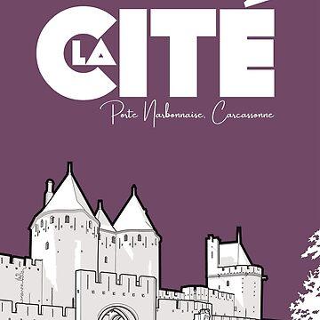 Cité de Carcassonne - Porte Narbonnaise by ElevenTwoNinety