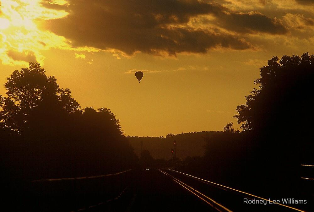 Sunset Traveler by Rodney Lee Williams