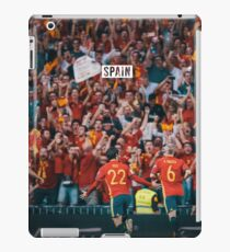 Spain Team iPad Case/Skin