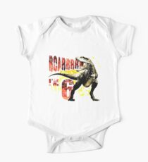 6th Birthday Gift 6 Year Old Dinosaurs  Birthday Present One Piece - Short Sleeve