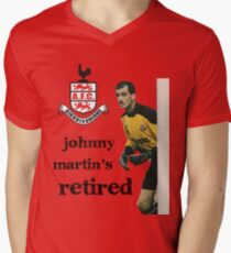 John Martin's retired Men's V-Neck T-Shirt