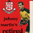 John Martin's retired by Airdrieonians