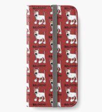 Fluffy Bullterrier - Bull Terrier - Dog - Dogs - Gift - Funny - Bully iPhone Wallet/Case/Skin
