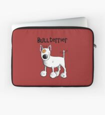 Fluffy Bullterrier - Bull Terrier - Dog - Dogs - Gift - Funny - Bully Laptop Sleeve