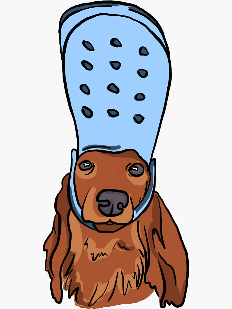 Sexy Sausage Dog With Croc by penandfelt