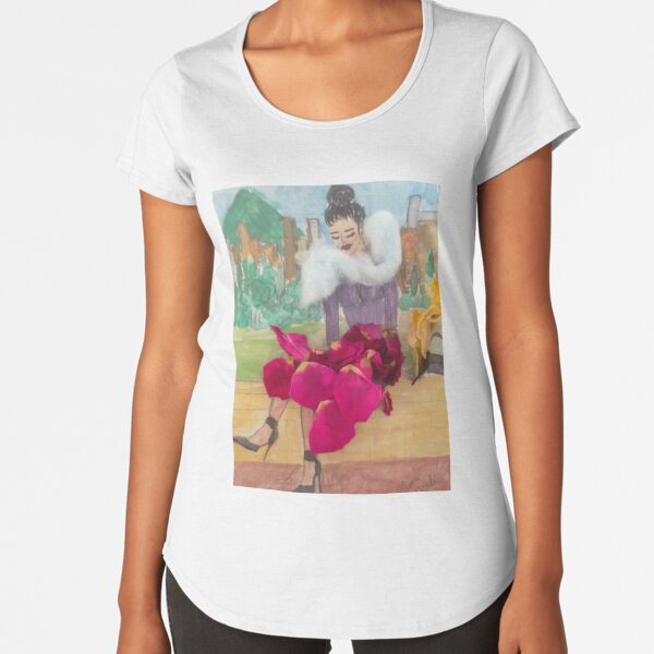 Absolutely Fabulous City Girl Premium Scoop T-Shirt