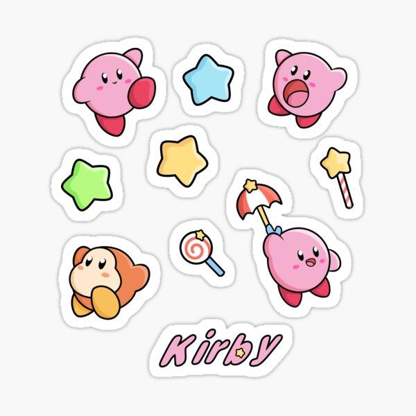 Pegatinas temáticas Kirby Pegatina