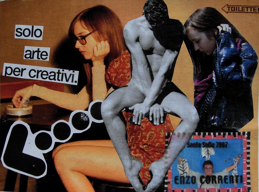 mail art 2008_05 - Solo arte per creativi by Enzo Correnti