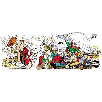 asterix & obelix by AMARILLO1