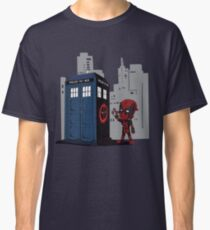 Defacing the Phonebox Classic T-Shirt