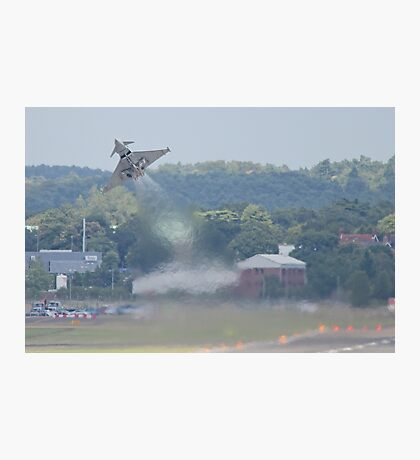 Typhoon Take Off - Farnborough 2014 Photographic Print