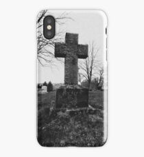 Cemetery Service iPhone Case
