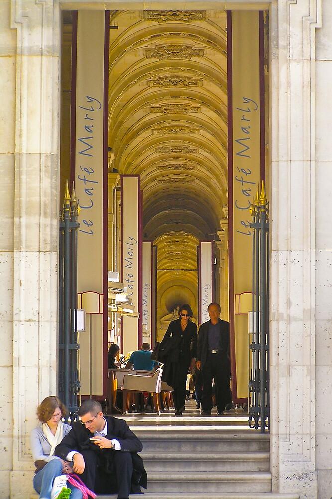 Tois Assignation, Paris by Steve Rhodes