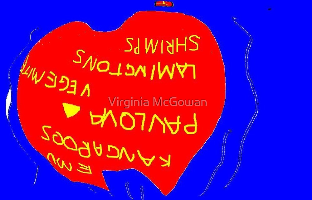 Upside Down.......... .Down Under for Ever by Virginia McGowan
