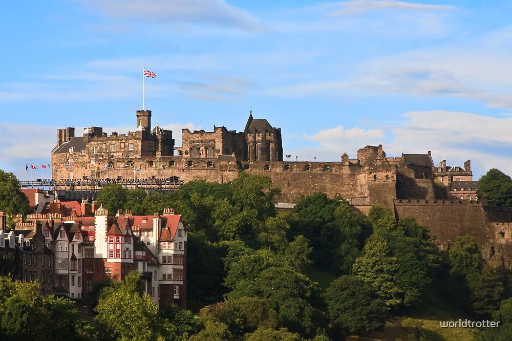 Edinburgh Castle, Scotland by Tomas Abreu