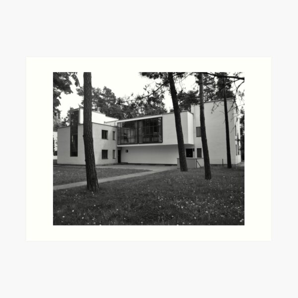 Bauhaus : Meisterhaus Art Print