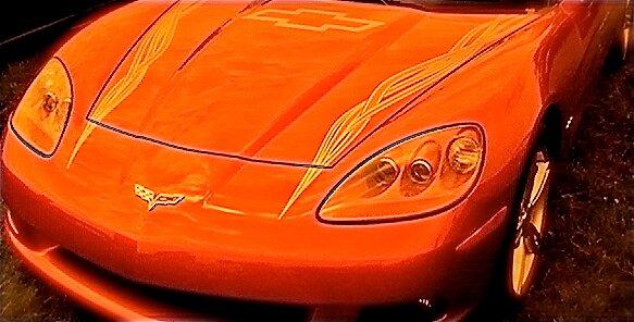Orange Speed by Chris Longwell