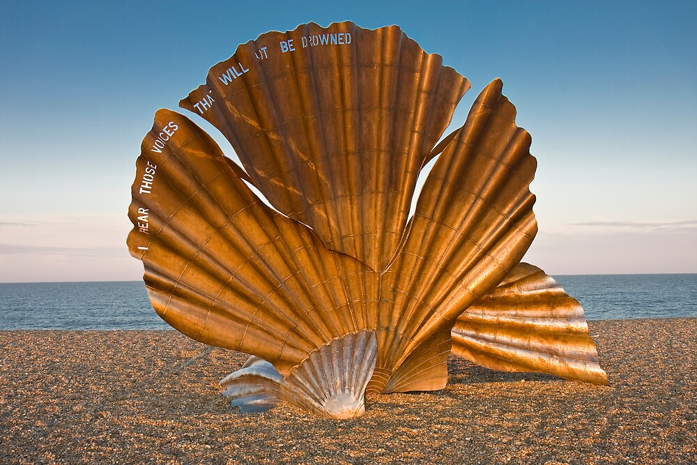 Sculpture on the Beach by Stephen Morhall