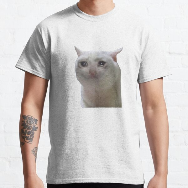 Sad Cat Meme Classic T-Shirt