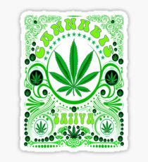 CANNABIS SATIVA Sticker