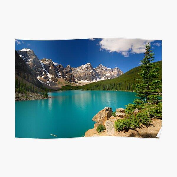 Morraine Lake Poster