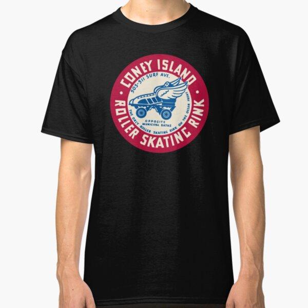 Coney Island Roller Skating Rink Classic T-Shirt