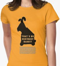THAT'S NO ORDINARY RABBIT Women's Fitted T-Shirt