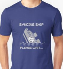 Syncing Ship Unisex T-Shirt