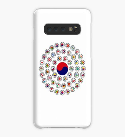 We Are Korea Multinational Patriot Flag Collective 1.0 Case/Skin for Samsung Galaxy