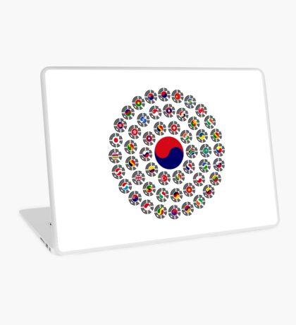 We Are Korea Multinational Patriot Flag Collective 1.0 Laptop Skin