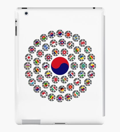 We Are Korea Multinational Patriot Flag Collective 1.0 iPad Case/Skin