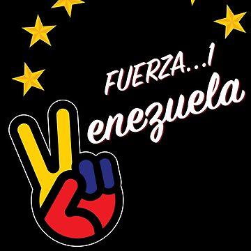 FUERZA VENEZUELA by mqdesigns13