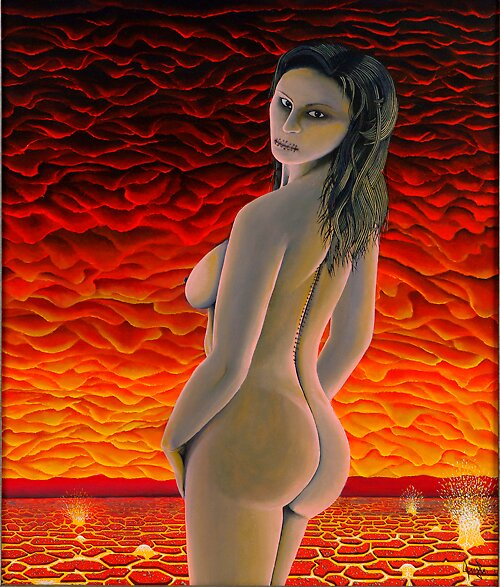 Nude Into Venuse 's Atmosphere by George Dermitzakis