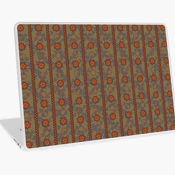 Mariposa Batik B in Moss & Mauve Laptop Skin
