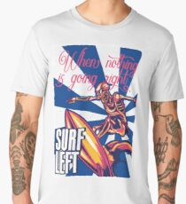 Surf Left Men's Premium T-Shirt