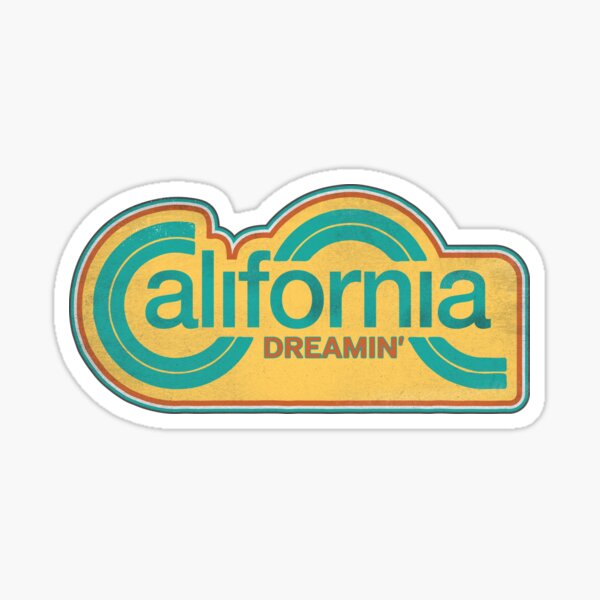 California Dreaming Sticker