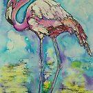 Flamingo by christine purtle