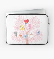 BT21 Cherry Tree Laptop Sleeve