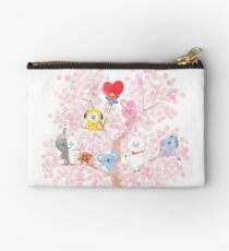 BT21 Cherry Tree Zipper Pouch