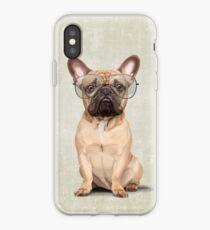 Mr Bulldog iPhone Case