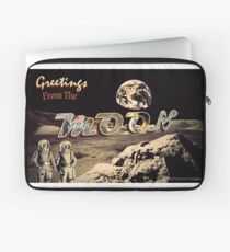Greetings From The MOON Laptop Sleeve