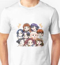 Camiseta unisex Dos veces Candy Pop Anime