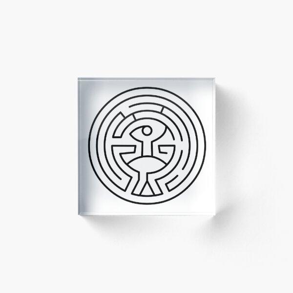 labyrinthe westworld Bloc acrylique