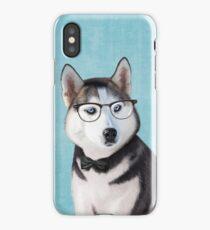 Mr Siberian Husky iPhone Case