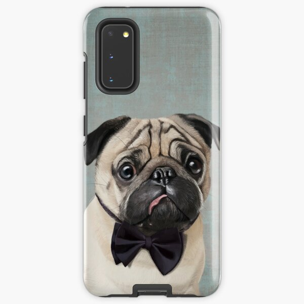 Mr Pug Samsung Galaxy Tough Case